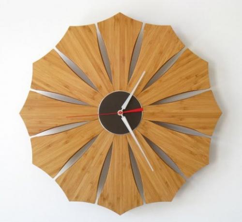 خرید اینترنتی ساعت دیواری چوبی