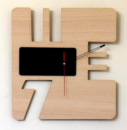خرید پستی ساعت دیواری چوبی