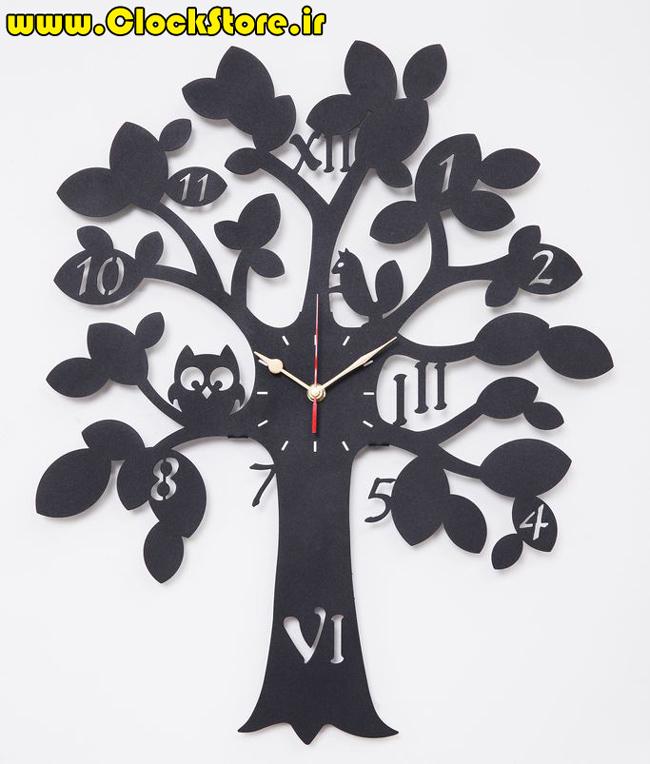 ساعت درخت