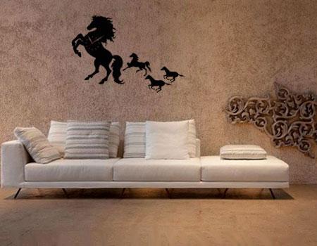 فروش ساعت دیواری طرح اسب