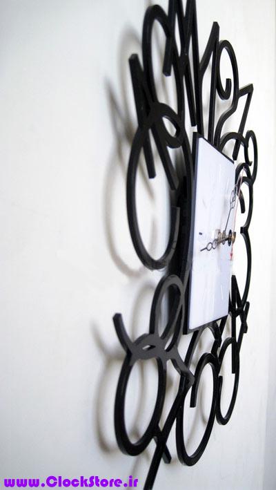 خرید ساعت دیواری فانتزی مربع