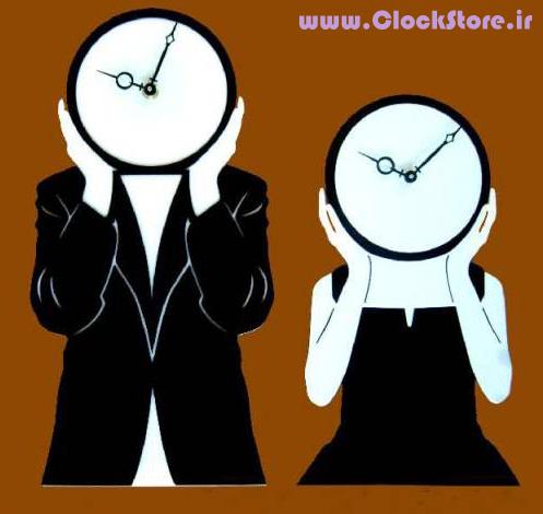 ساعت دیواری فانتزی زوج