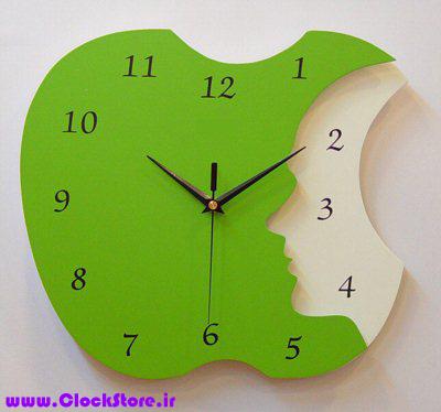 ساعت دیواری فانتزی سیب