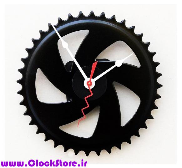 خرید ساعت دیواری فانتزی چرخ دنده