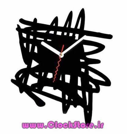 خرید ساعت دیواری فانتزی کوبیسم