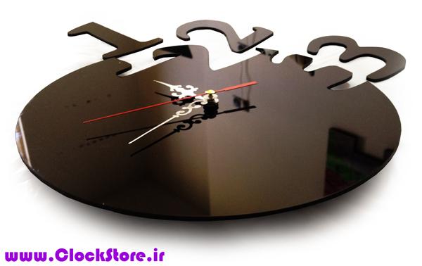 خرید ساعت دیواری فانتزی روژان