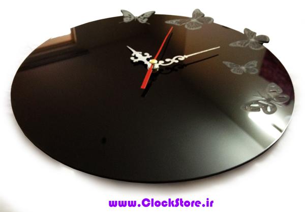 فروش ساعت دیواری پروانه