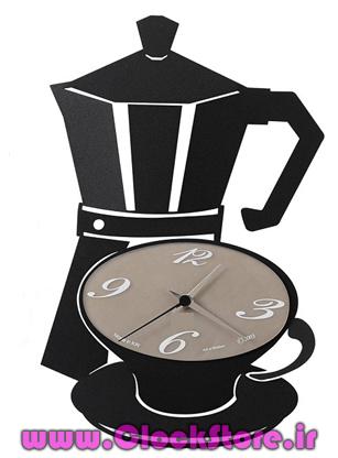 خرید ساعت دیواری فانتزی کافه