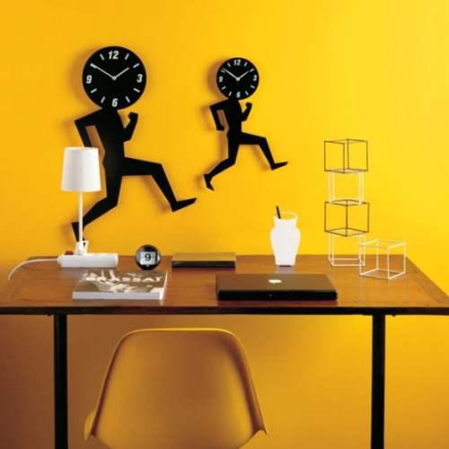 خرید ساعت دیواری فانتزی آدمک